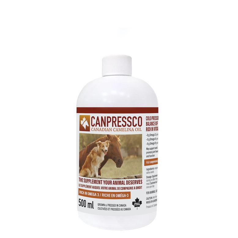 Canpressco - Canadian Camelina Oil for Equines